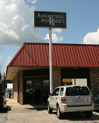 Assumption Pharmacy Napoleonville, Louisiana