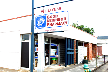 Shute's Good Neighbor Pharmacy Opelousas, Louisiana