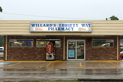 Willard's Thrifty Way Pharmacy CHURCH POINT, LOUISIANA